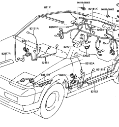 wiring clamp illust no 2 of 4 8412 toyota mr2 aw11 north 1991 toyota mr2 wiring diagram toyota mr2 wiring [ 1600 x 1066 Pixel ]