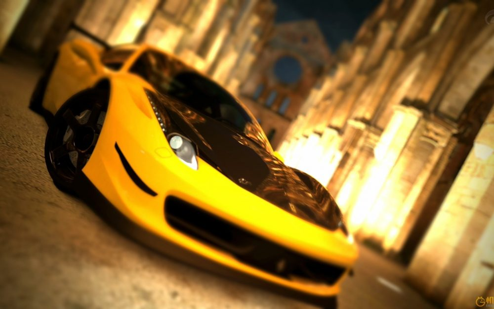 Exotics for your desktop, phone or tablet. Beautiful Yellow Sports Car Hd Car Wallpaper 8wallpapers