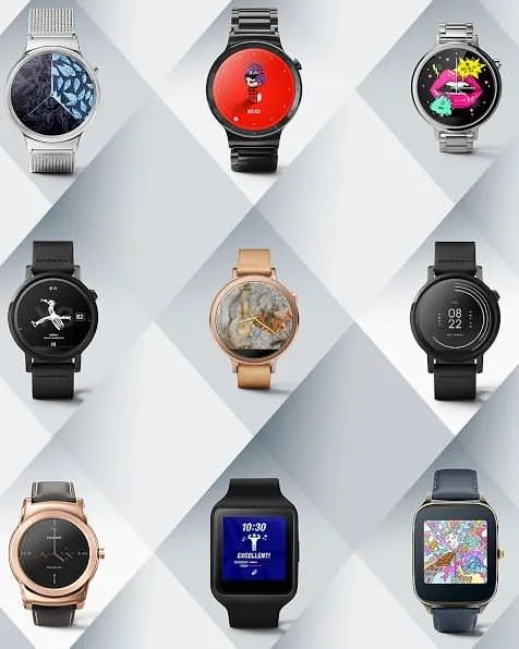 Android Wear designer watch faces