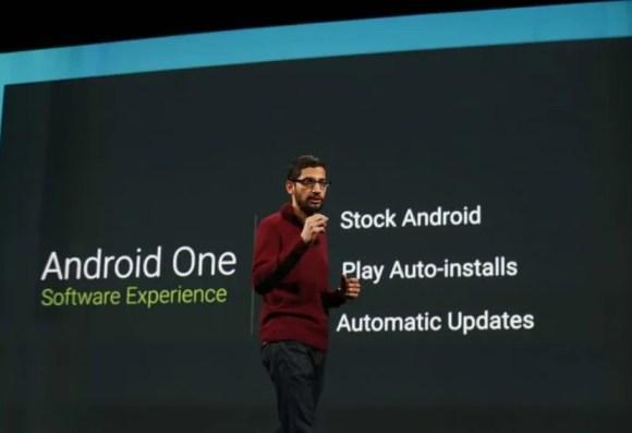 android One sundar pichai