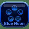 Smart Launcher Blue Neon 1.5