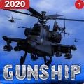 Helicopter Simulator 3D Gunship Battle Air Attack 3.22
