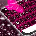 Pink Neon Keyboard Theme 4.172.54.79
