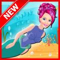 Mermaid Shark Attack : Girl Game 1
