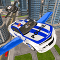 Drive Real Futuristic Police Flying Car 3D 1.1