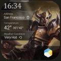 world saving hero clock widget 2.0_release