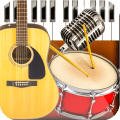 Band Live Rock - Drum, Piano, Bass, Guitar, voice 4.1.0
