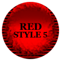 Red Icon Pack Style 5 ✨Free✨ 4.1