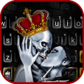 Crown Skull Kiss Keyboard Theme 1.0