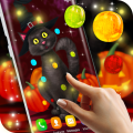 Halloween Cat Live Wallpaper 6.0.3