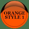 Orange Icon Pack Style 1 Free 4.3