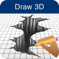 How to Draw 3D 3.4.4c