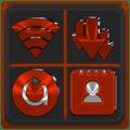 Red Orange Icon Pack ✨Free✨ 2.8