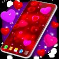 Love Live Wallpaper ❤️ 3D Hearts 4K Wallpaper Free 6.0.3