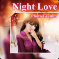 Beautiful Night Love Photo Frames Greeting Cards 6.05.0.2