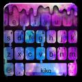 Liquid Galaxy Droplets Keyboard Theme 1.0