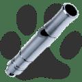 Dog Whistle (Titanium) Dog Titanium Whistle 1.24