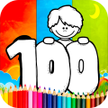 Coloring 100 Days Of School Games 1.0.4