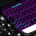 Neon Purple Keyboard Theme 1.279.13.93