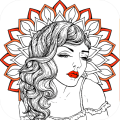 Adults Colouring Book - Mandala Colouring 1.0.3