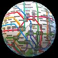 Public transport maps offline - The whole world 1.5.4