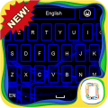 Blue Neon keyboard theme 1.9