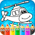 Coloring pages for children : transport 1.0.1