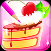 Sweet Cake Coloring Book 1.0