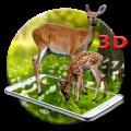 White Deer 3D Live wallpaper 1.1.1