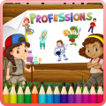 Kids Coloring Book Professions 1.0