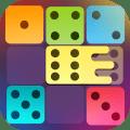 Dominoes puzzle - merge blocks with same numbers 1.12c