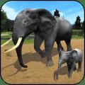 Wild Elephant Family Simulator 1.4