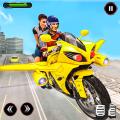 Futuristic Flying Bike Taxi Simulator Driver 4.9
