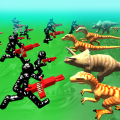 Battle Simulator: Stickman v.s. Dinosaur 1.03