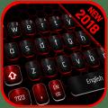 Classic Black Red Keyboard 10001005