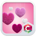 FLUFFY HEART CLAUNCHER THEME 3.9.12