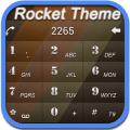 RocketDial Brown2rd Theme 1.91