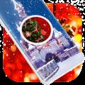 Christmas Clock Live Wallpaper 1.0