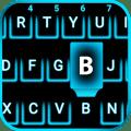 Neon Blue Smart keyboard 1.1