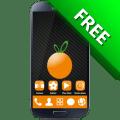Orange GO Launcher EX Theme 1.2