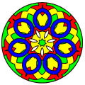 Mandala coloring pages 6.5.6