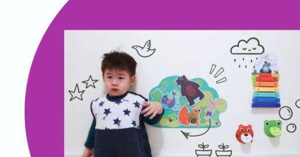【無毒好玩+可愛裝飾2 in 1 | 新加坡Oribel壁貼玩具】