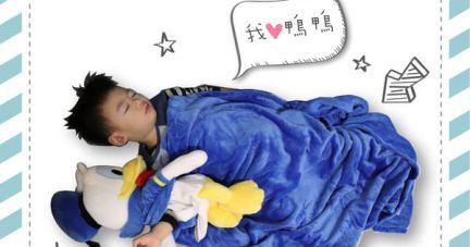 團購【美國Zoobies迪士尼3 in 1玩偶毯&兒童睡袋 | 暖暖入眠】
