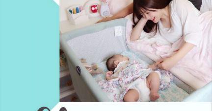 【寶寶好眠 爸媽安心   Chicco Next 2 Me多功能移動舒適床邊床】