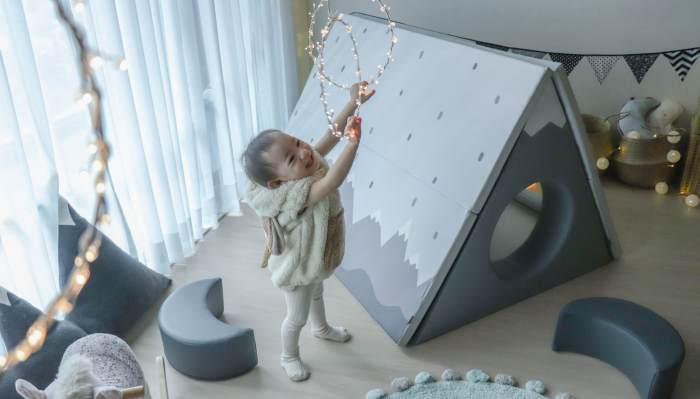 【長達四年心得!安心耐用推薦 韓國第一品牌Alzipmat折疊遊戲地墊。圍欄。帳篷小屋】