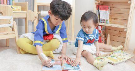 【寶寶的第一套點讀筆怎麼選?|KidsRead Plus版 2.0魔法錄音點讀筆】