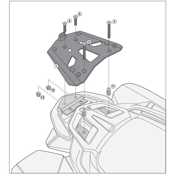 Catgorie Portebagage de moto page 4 du guide et