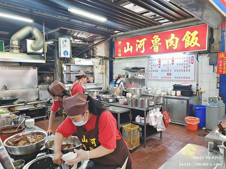 20190331234524 2 - 第二市場美食|山河魯肉飯-市場內的排隊小吃