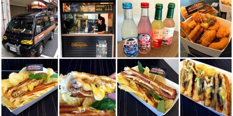 [台南美食] MonsterPlus-古巴三明治專門店 - 現烤三明治夾著大塊肉和大量起司吃下超享受