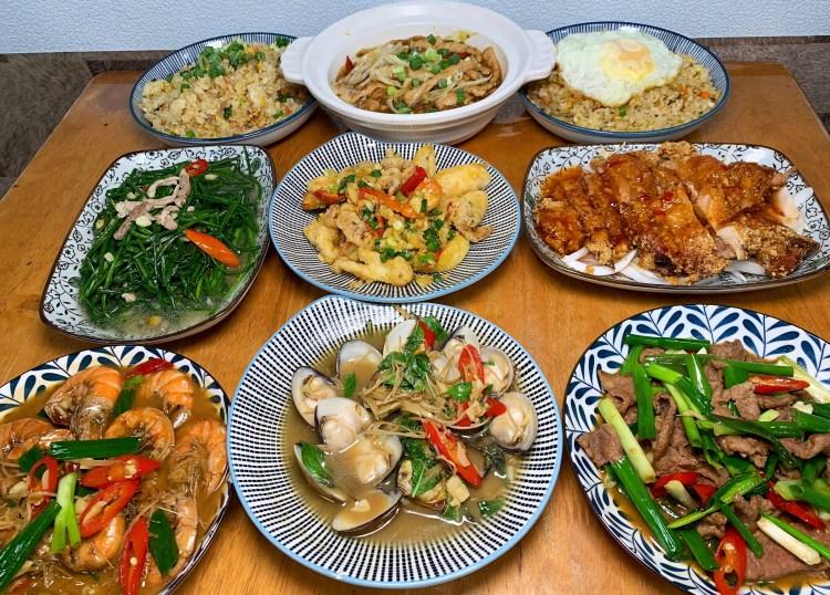 [台南美食] 玖兩熱炒 – 超平價熱炒!花少少錢就能吃整桌豐盛菜色